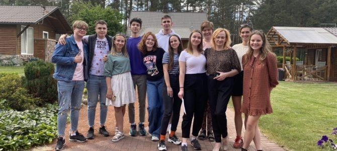 Praūžė pirmieji šiais metais mokymai bendrijos PAGAVA jaunuoliams