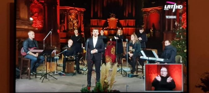 "Kalėdinis koncertas ""Viešpats su mumis"""