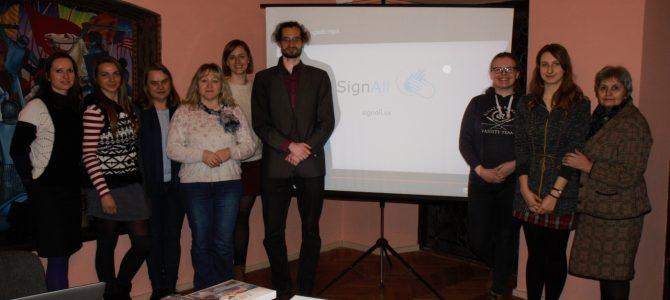 Susitikimas su svečiu iš Vengrijos David Pálházi