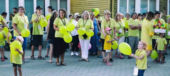 """Lietuvos šeimų, auginančių kurčius ir neprigirdinčius vaikus, vasaros stovykla """"Bėgant iš tylos pasaulio…"""""""