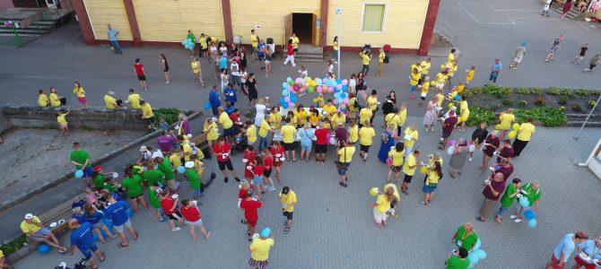 """Bendrijos PAGAVA 20-oji vasaros stovykla """"Bėgant iš tylos pasaulio…"""""""
