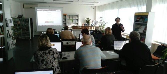 Mokymai vyresnio amžiaus asmenų skaitmeninio raštingumo tobulinimui