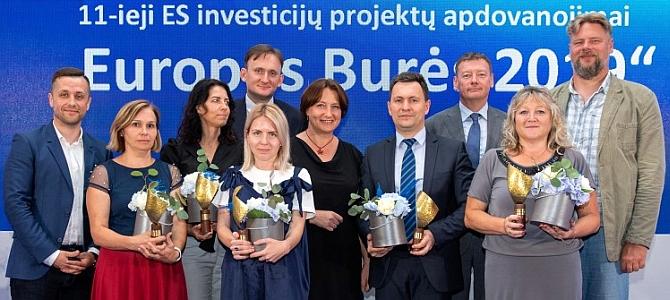 """Bendrijai PAGAVA įteiktas konkurso """"Europos burės"""" apdovanojimas"""