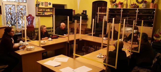 """Projekto """"Vyresnio amžiaus darbingų asmenų įtraukimas į savanorišką veiklą ir bendrųjų gebėjimų ugdymas"""" veiklos"""